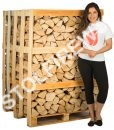 full ash crate firewood