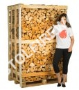 full mixed crate kiln dried logs