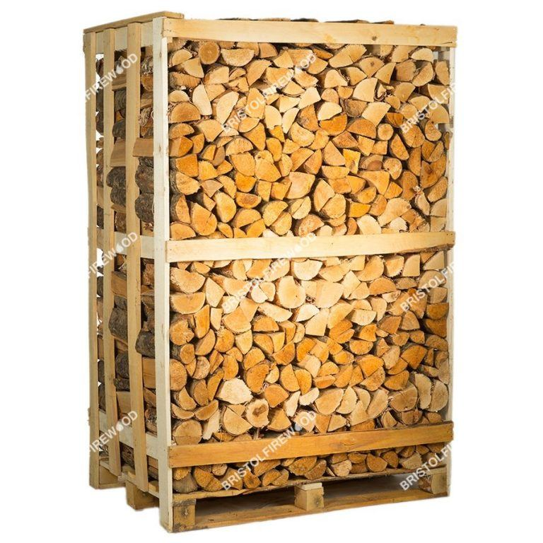 full mixed crate kiln dried logs standalone