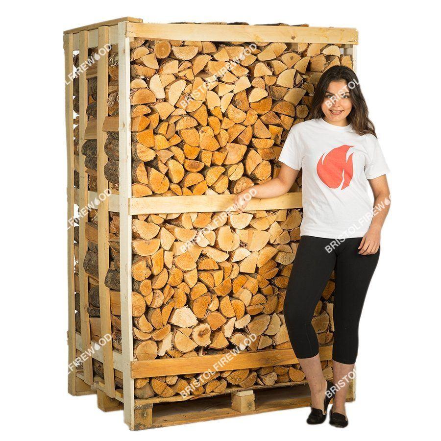 full mixed crate kiln dried logs
