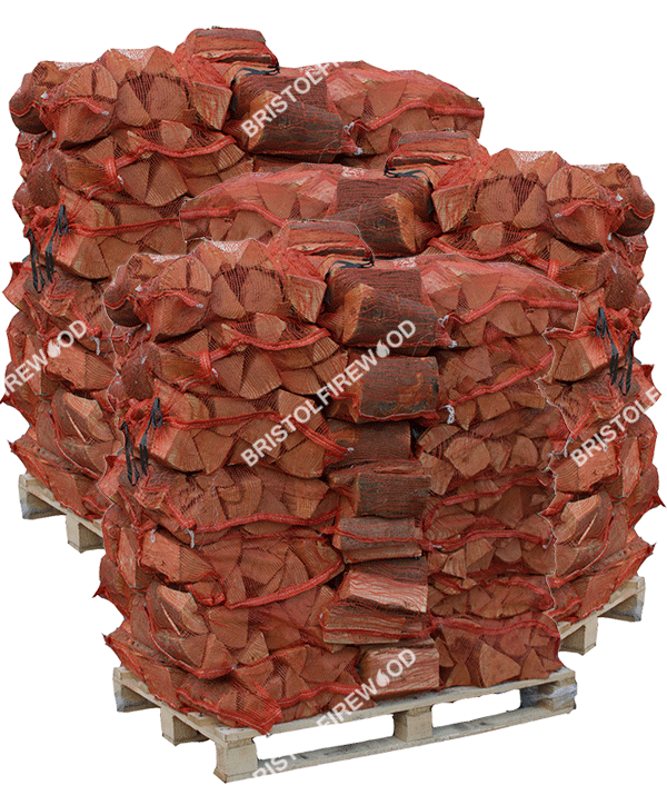 150 nets kiln dried logs