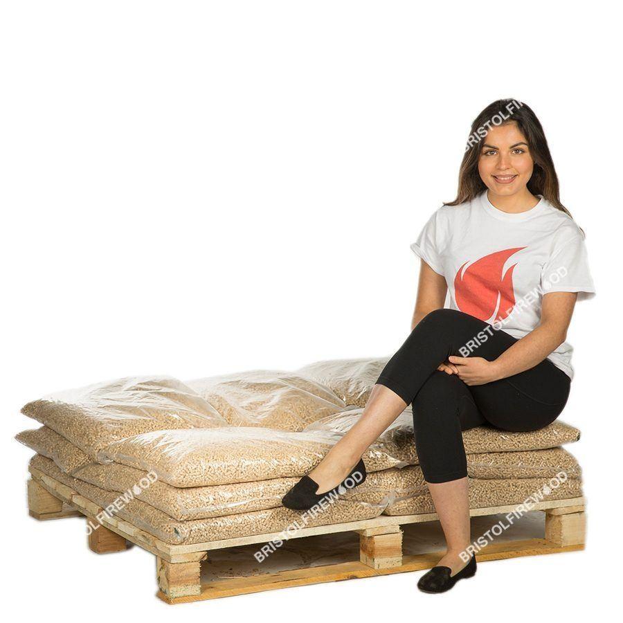 120kg wood pellets