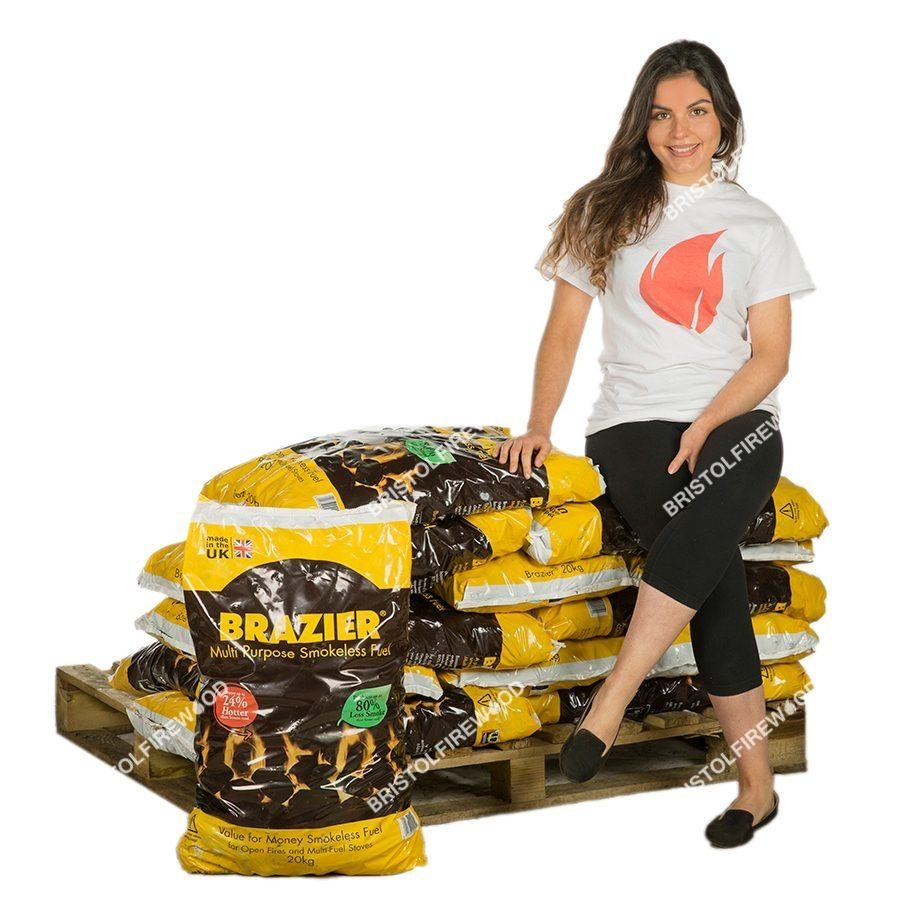 220kg brazier smokeless coal