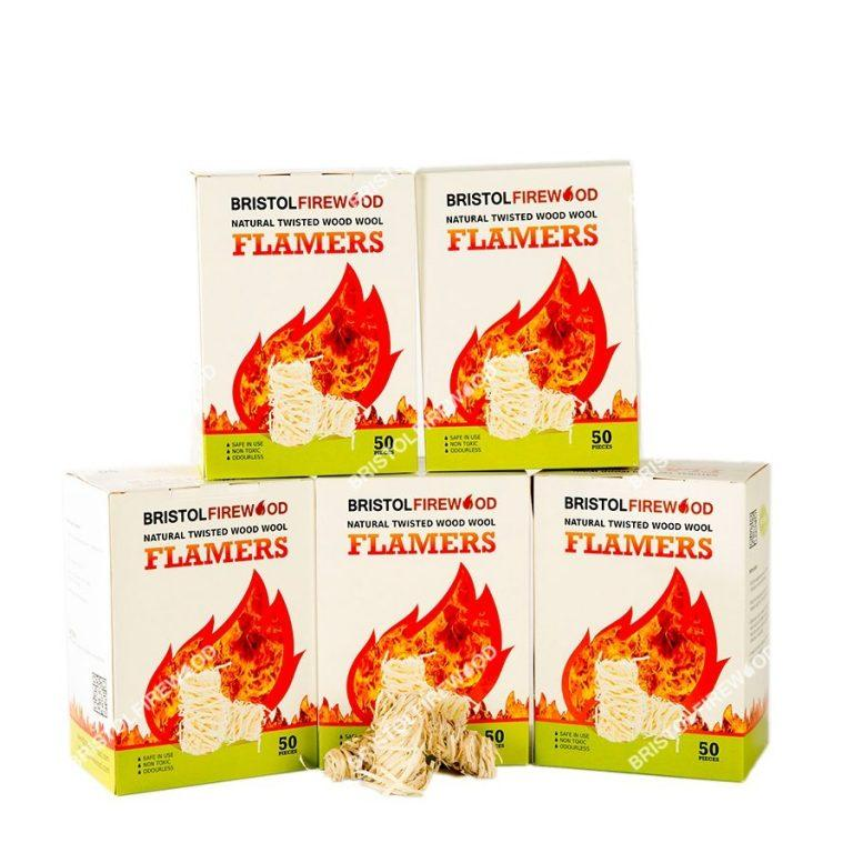 5 boxes flamers