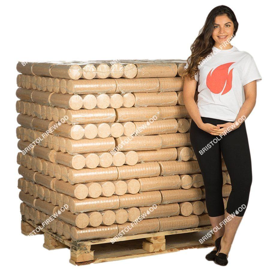 960kg heat logs