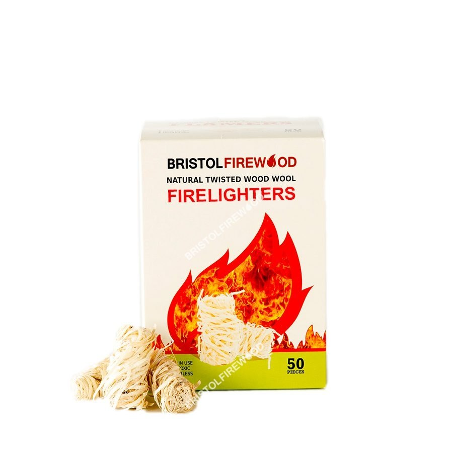 single box natural firelighters