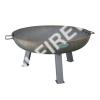 cast iron outdoor garden firepit 870mm