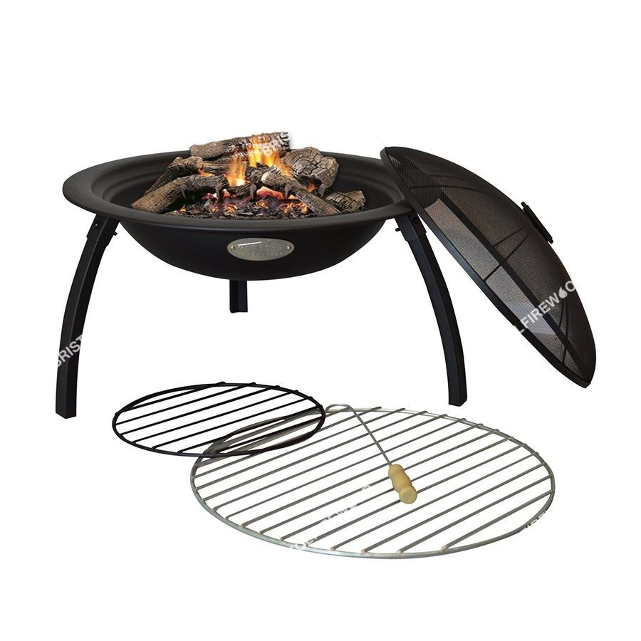 harbour fire pit patio heater grill
