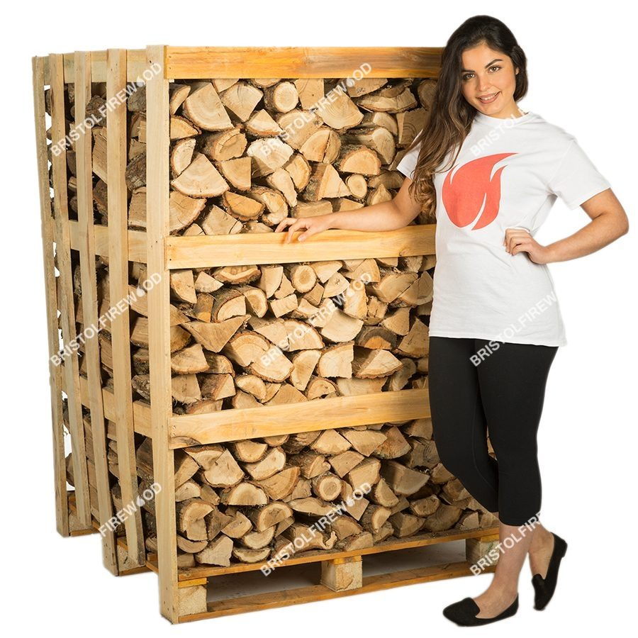 full oak crate firewood
