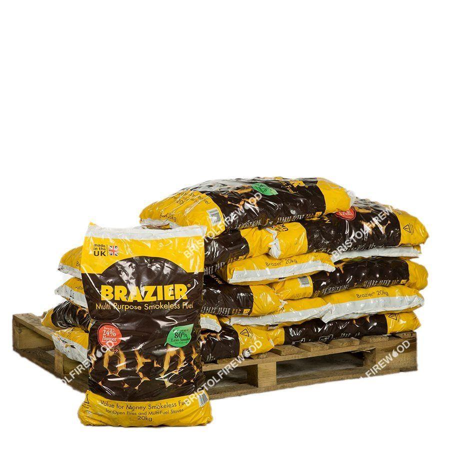 220kg brazier smokeless coal standalone