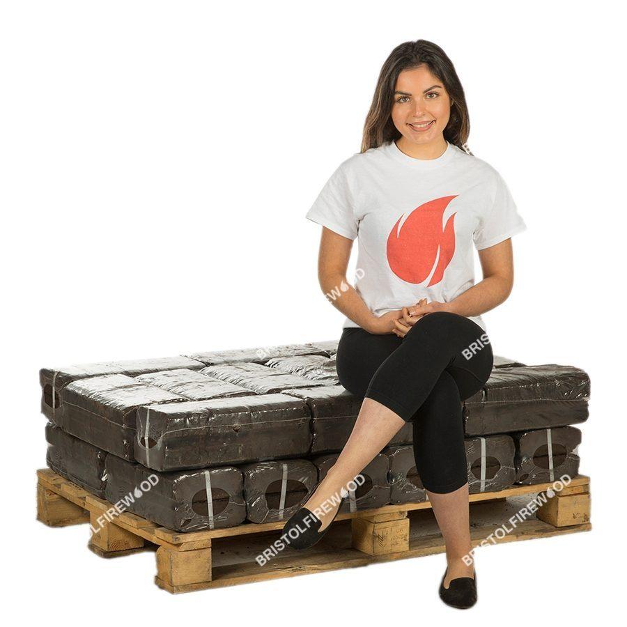 240kg peat briquettes