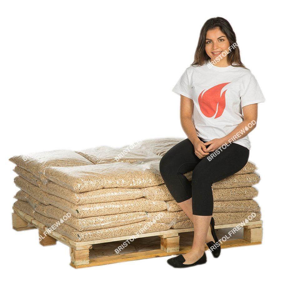 240kg wood pellets
