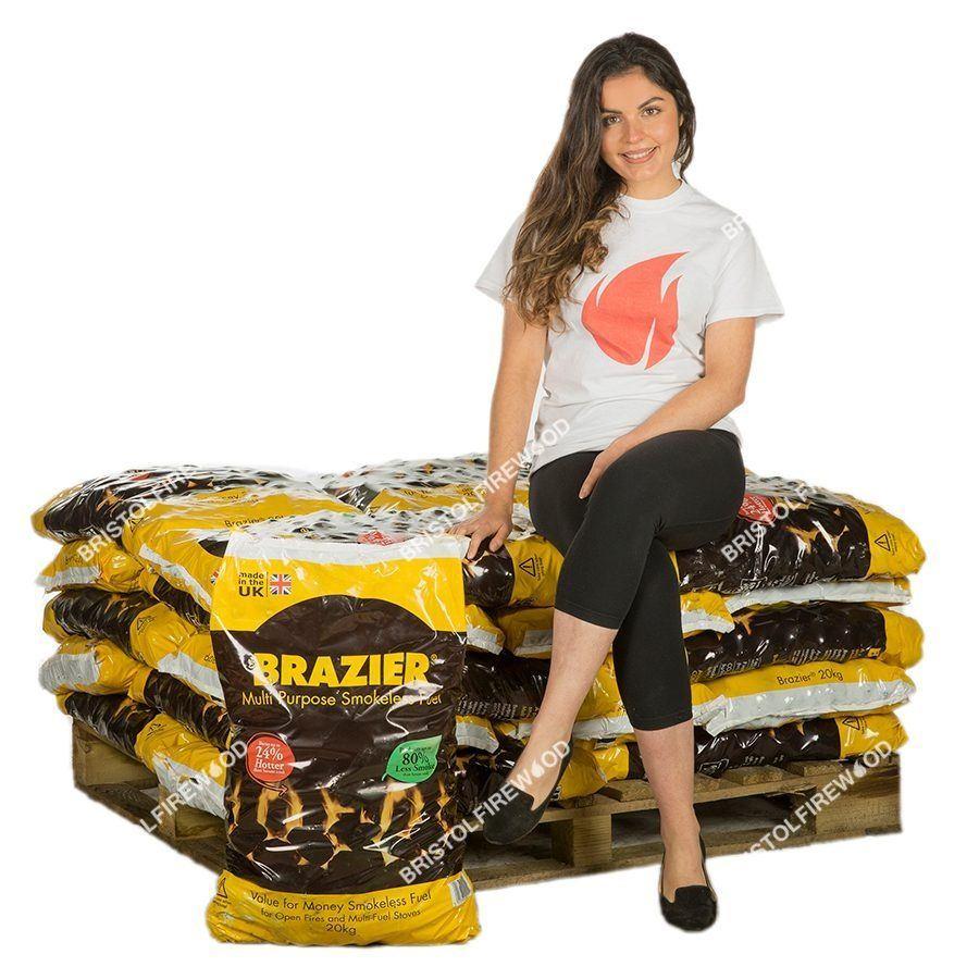 480kg brazier smokeless coal