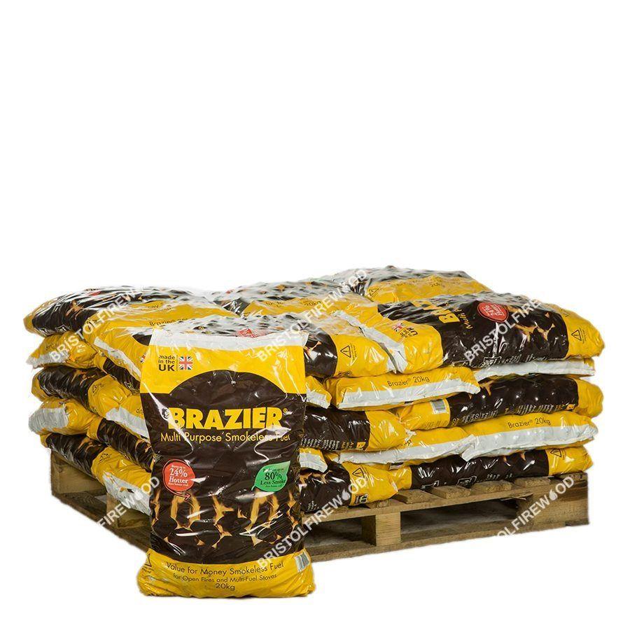 480kg brazier smokeless coal standalone