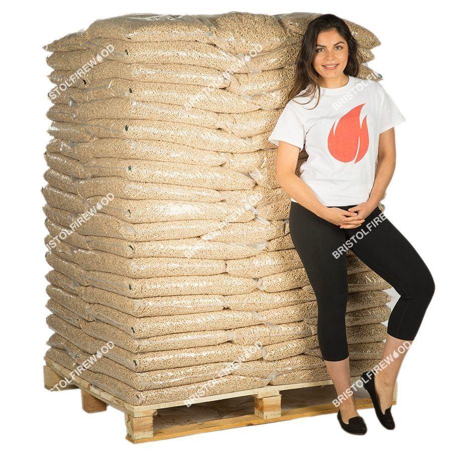 960kg wood pellets