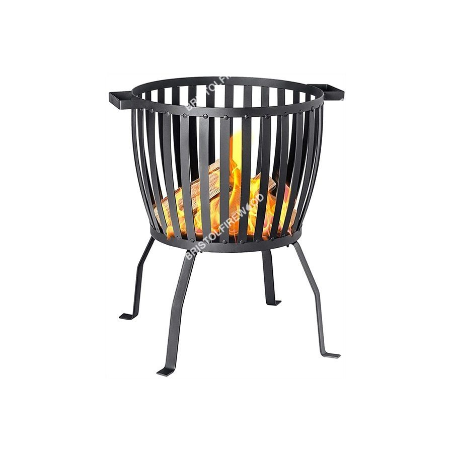 harbour housewares steel brazier fire pit